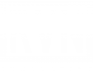 RVN Consulting logo white valkoinen